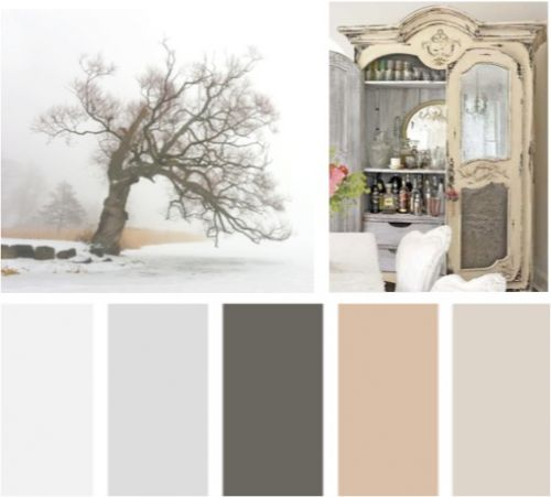 Colores vintage lemonbe el color olor y sabor de tu for Paleta de colores pared