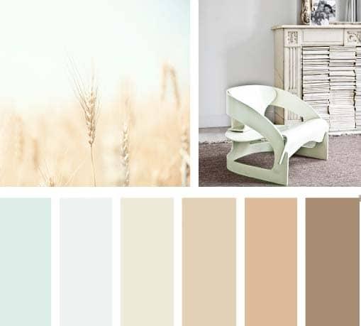 Color aire del campo lemonbe el color olor y sabor de - Paleta de colores neutros ...