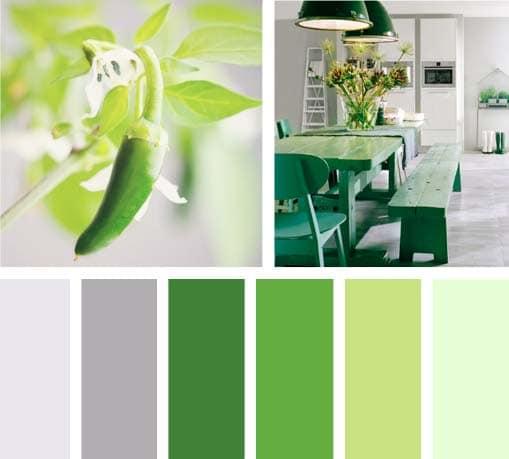 Verde picante lemonbe el color olor y sabor de tu - Gama de verdes ...