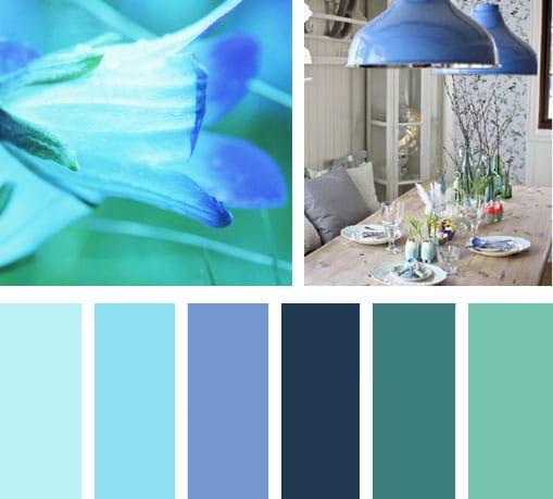 Solo toque de color lograras crear un ambiente elegante e interesante