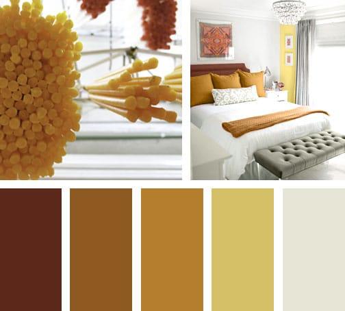 Colores candela lemonbe el color olor y sabor de tu - Color ocre para paredes ...