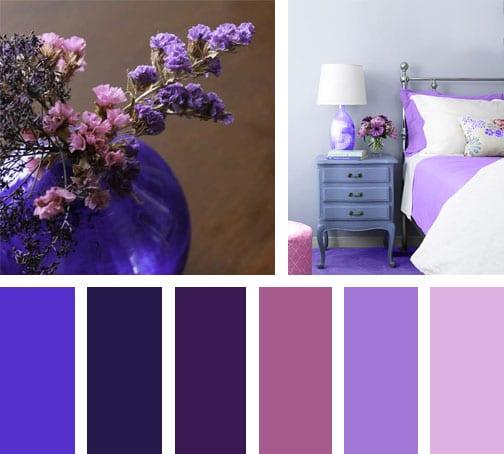 Lila vintage lemonbe el color olor y sabor de tu - Que colores combinan con el lila ...