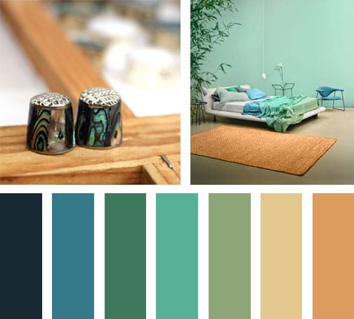 Verde mineral lemonbe el color olor y sabor de tu for Paleta colores pintura pared