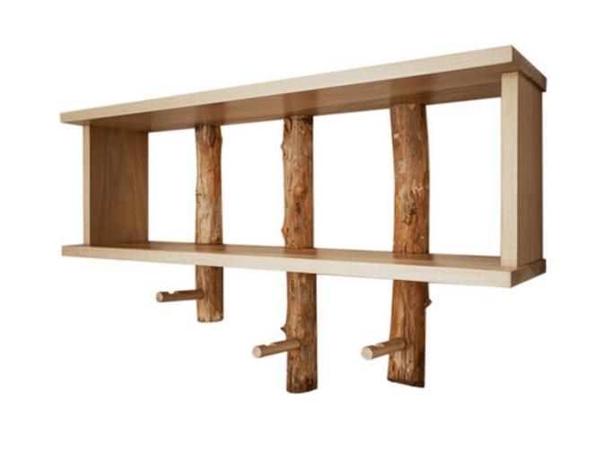 Conoce los estilos de moda para muebles de madera for Diseno de muebles de madera