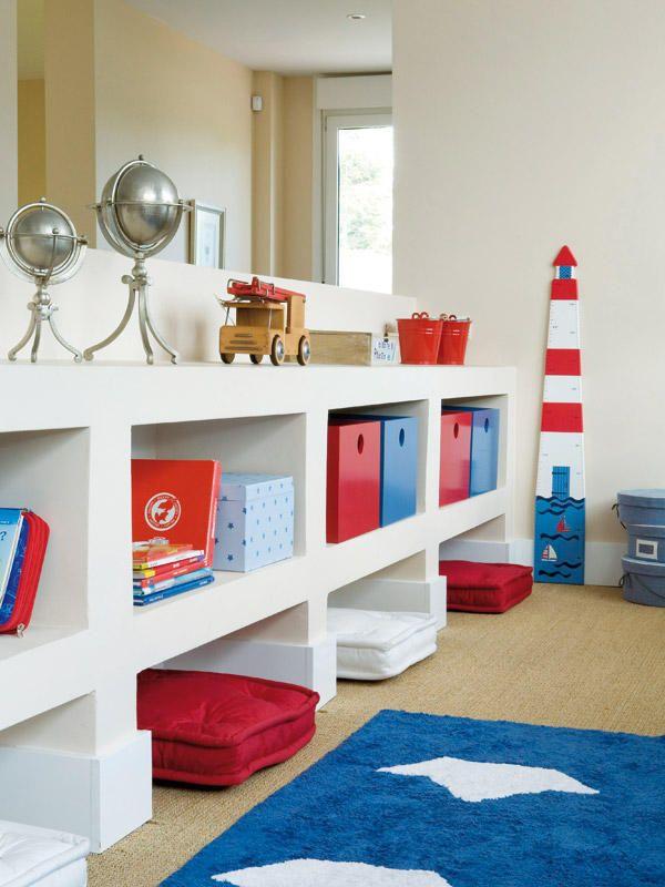 para organizar objetos en el cuarto de tus hijos