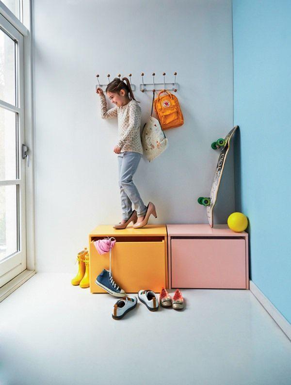 Ideas para organizar objetos en el cuarto de tus hijos lemonbe el color olor y sabor de tu - Almacenaje para ninos ...
