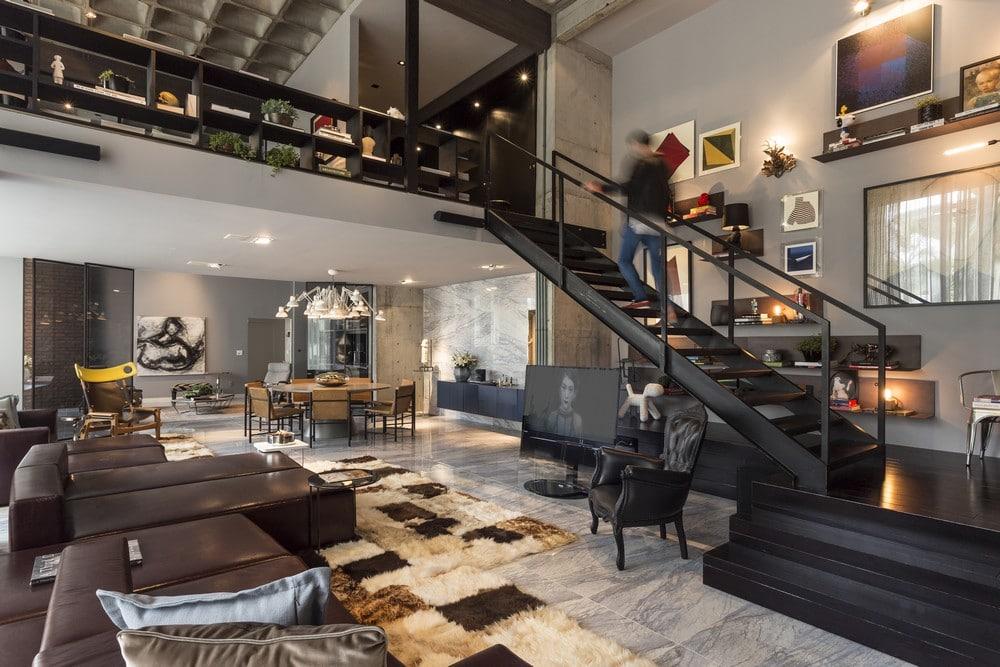LEMONBE-El Arte y Diseño Contemporáneo fusionados en un departamento-01