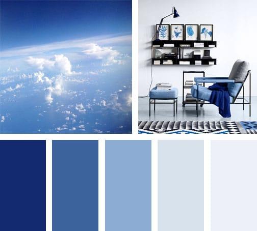 Lemonbe paleta blue - Gamas de colores azules ...