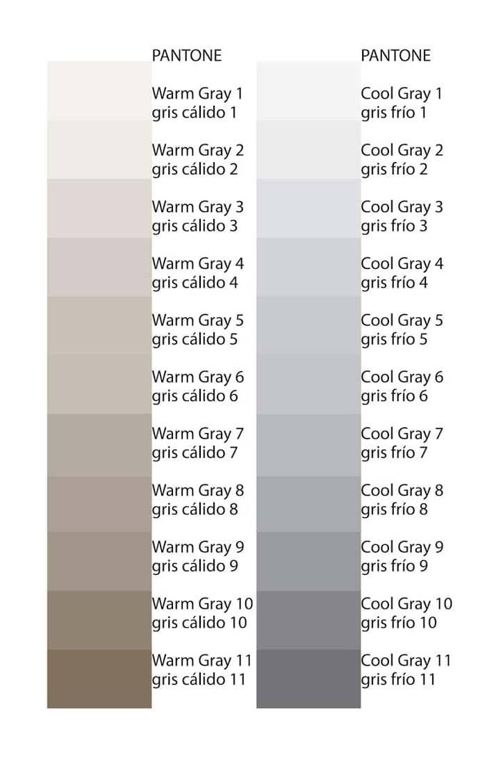 C mo aplicar tonos de gris en la decoraci n de - Colores que contrastan con el gris ...