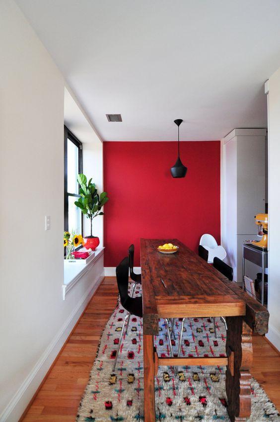 C mo utilizar el rojo en la decoraci n de tu casa for Decoracion casa rojo