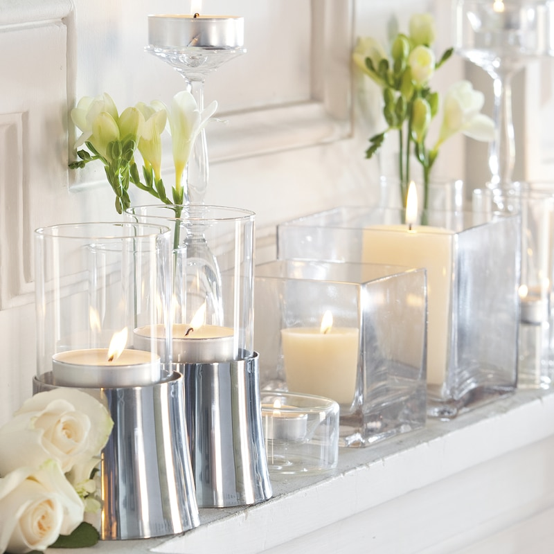 Ideas para decorar con velas lemonbelemonbe el color for Decorar jarrones con velas