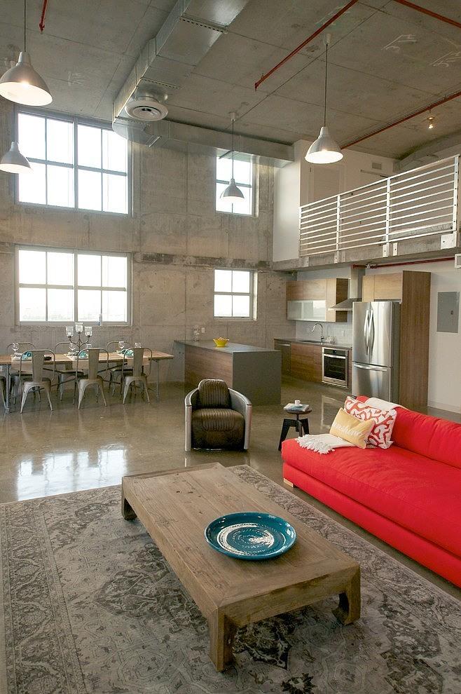 Un loft industrial perfecto para miami lemonbe el for Muebles modernos en miami florida