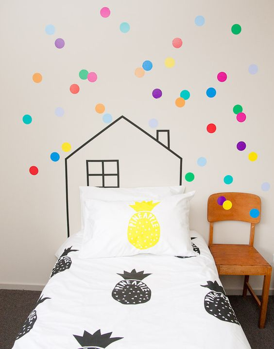 10 ideas para decorar una pared en el cuarto de los ni os for Ideas para decorar paredes infantiles