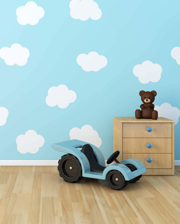 10 ideas para decorar una pared en el cuarto de los ni os - Como adornar una pared ...