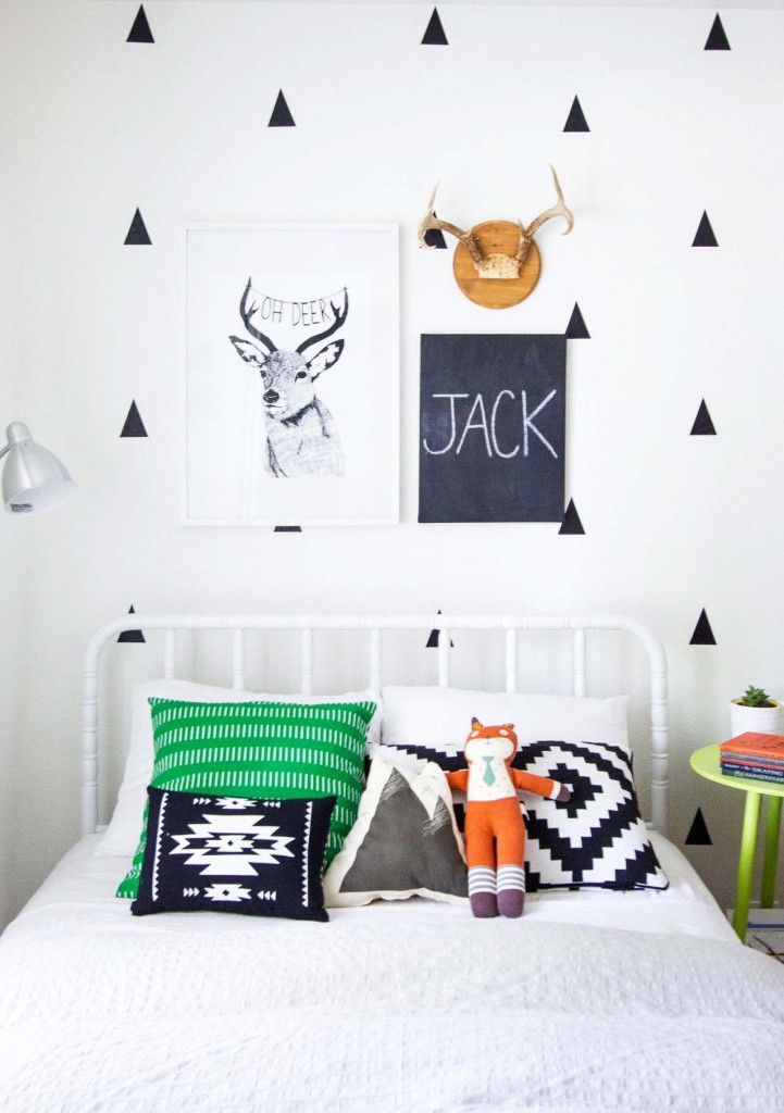 10 ideas para decorar una pared en el cuarto de los ni os - Ideas para decorar el cuarto ...
