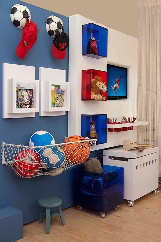 Cuartos de estar modernos sala de estar azul y amarillo for Como disenar un cuarto de bano