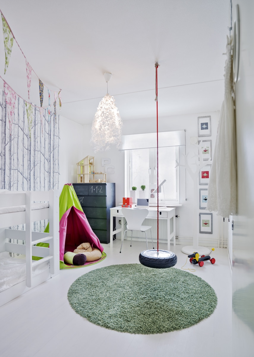 lemonbe-Ideas para colocar un columpio dentro de tu casa-04