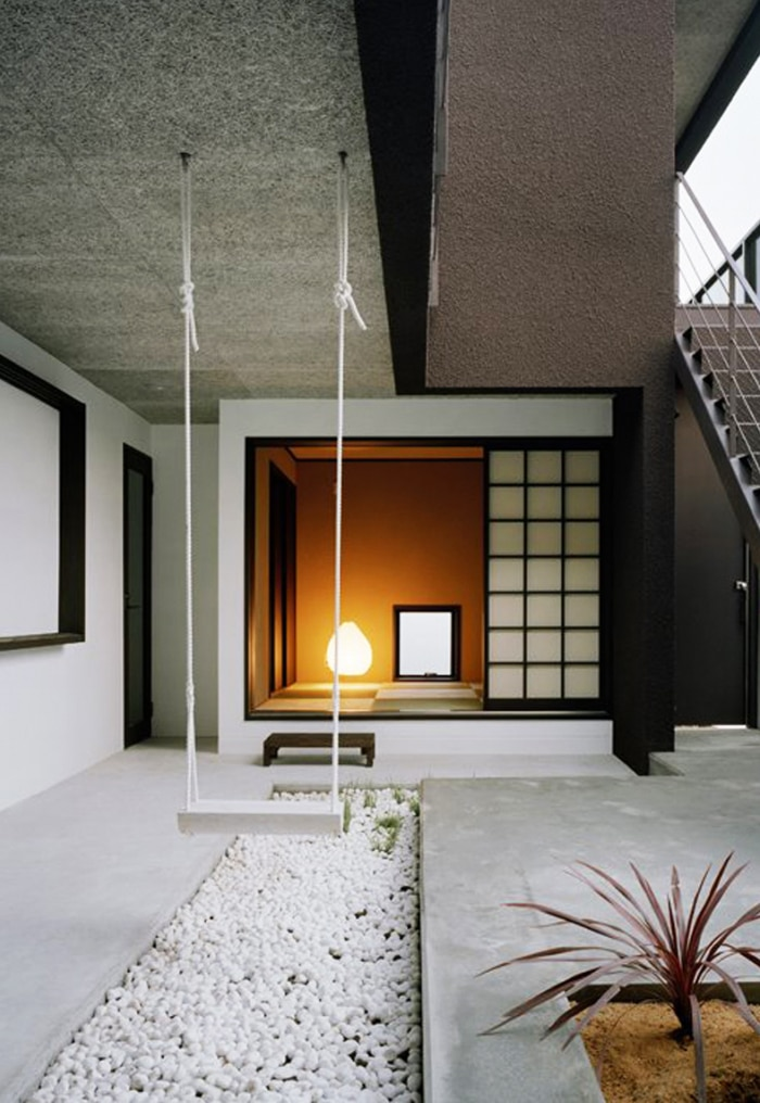 lemonbe-Ideas para colocar un columpio dentro de tu casa-06