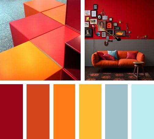 Zig hot zag lemonbe el color olor y sabor de tu hogar - Pared naranja combina con ...