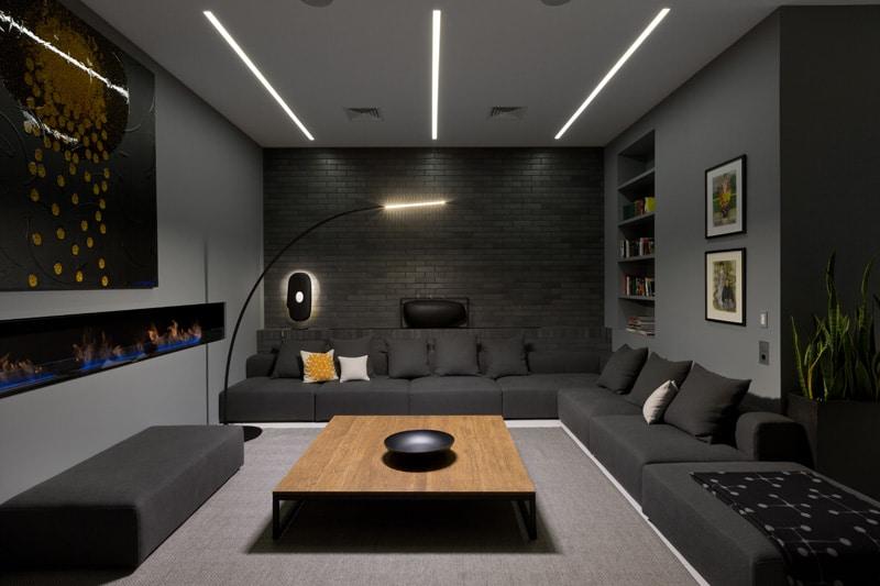 lemonbe-El techo resalta en este departamento como elemento decorativo-08