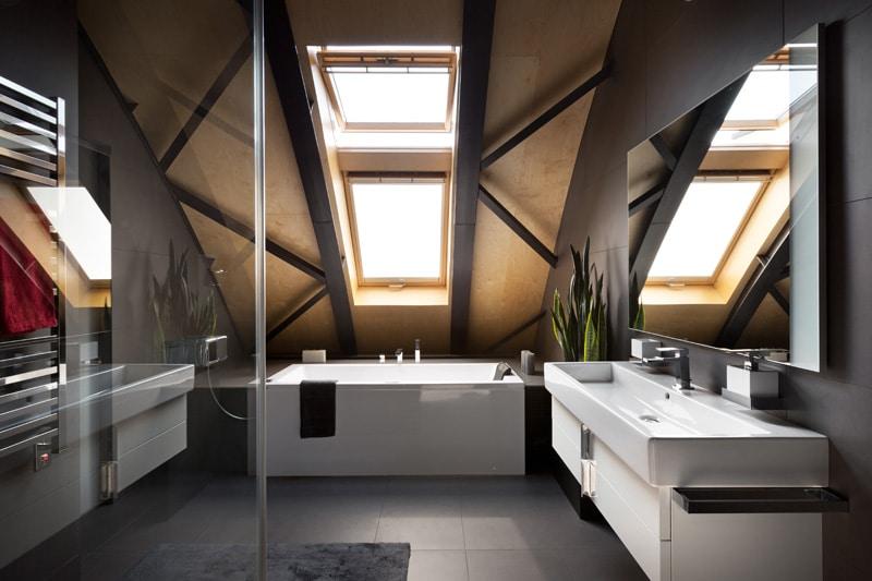 lemonbe-El techo resalta en este departamento como elemento decorativo-12