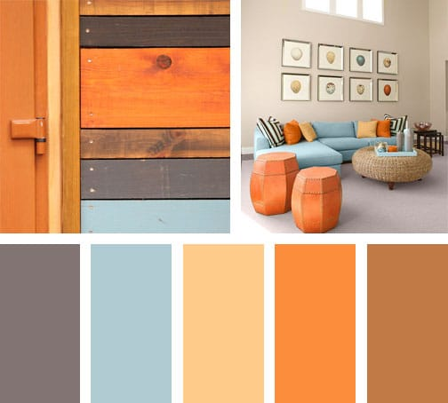Orange wood lemonbe el color olor y sabor de tu hogar for Colores para interiores de casa modernos