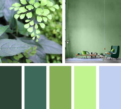 Pretty green lemonbe el color olor y sabor de tu for Paleta de colores pared