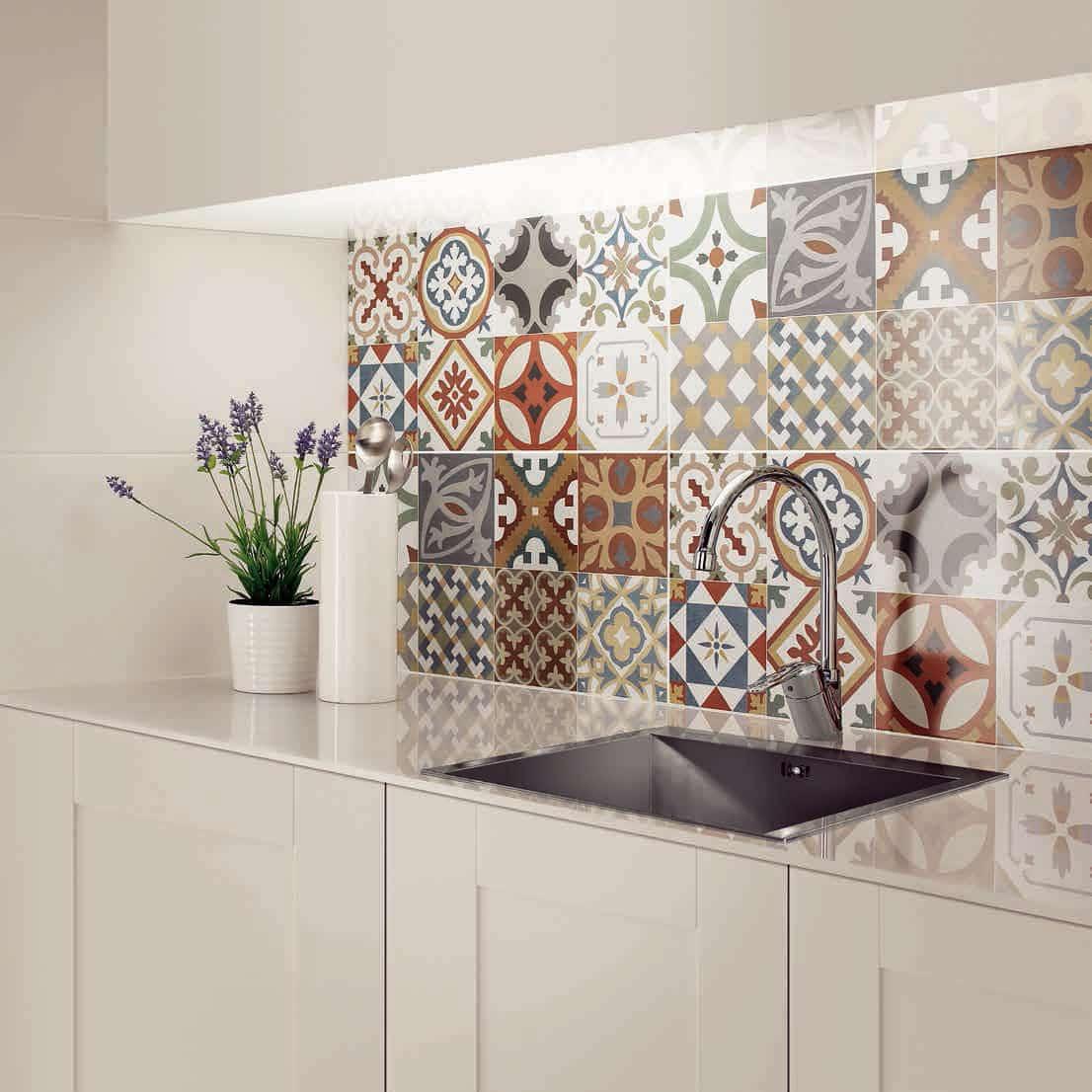 5 formas de usar mosaicos - LEMONBE – El color, olor y sabor de tu ...