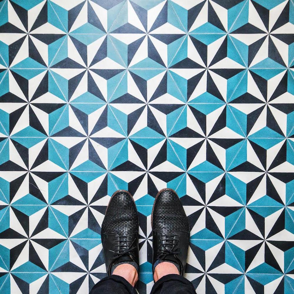 5 formas de usar mosaicos lemonbe el color olor y - Mosaicos de colores ...