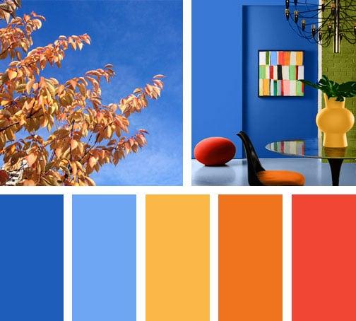 Sunny day lemonbe el color olor y sabor de tu hogar for Gama de colores azules