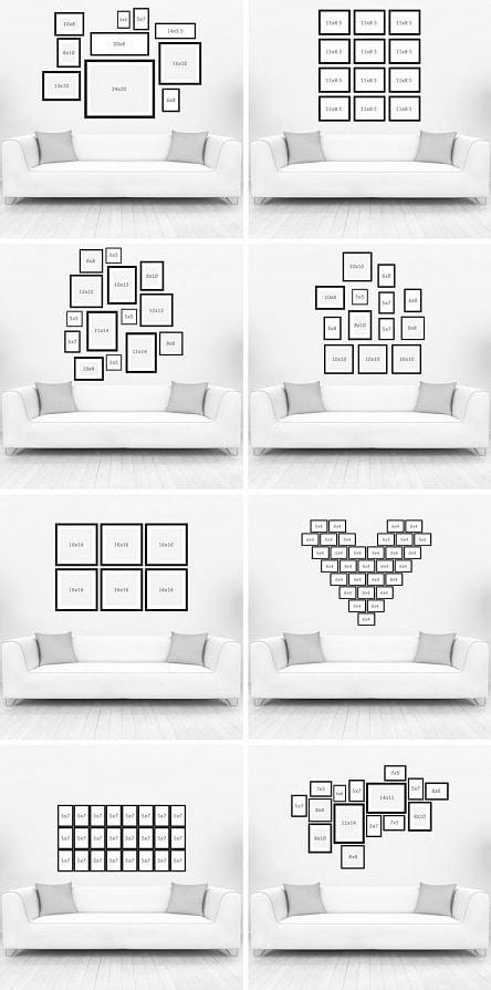 LEMONBE-Cómo decorar una pared con fotografías-10