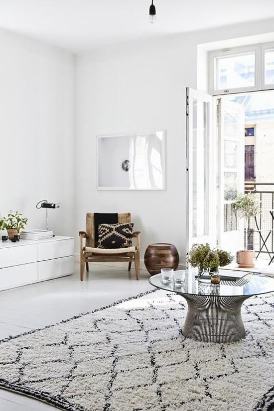 Conoce el elegante departamento de la diseñadora Joanna Laajisto