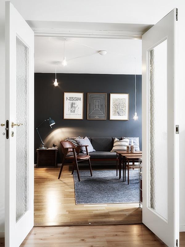 Un hogar limpio y natural que inspira renovación