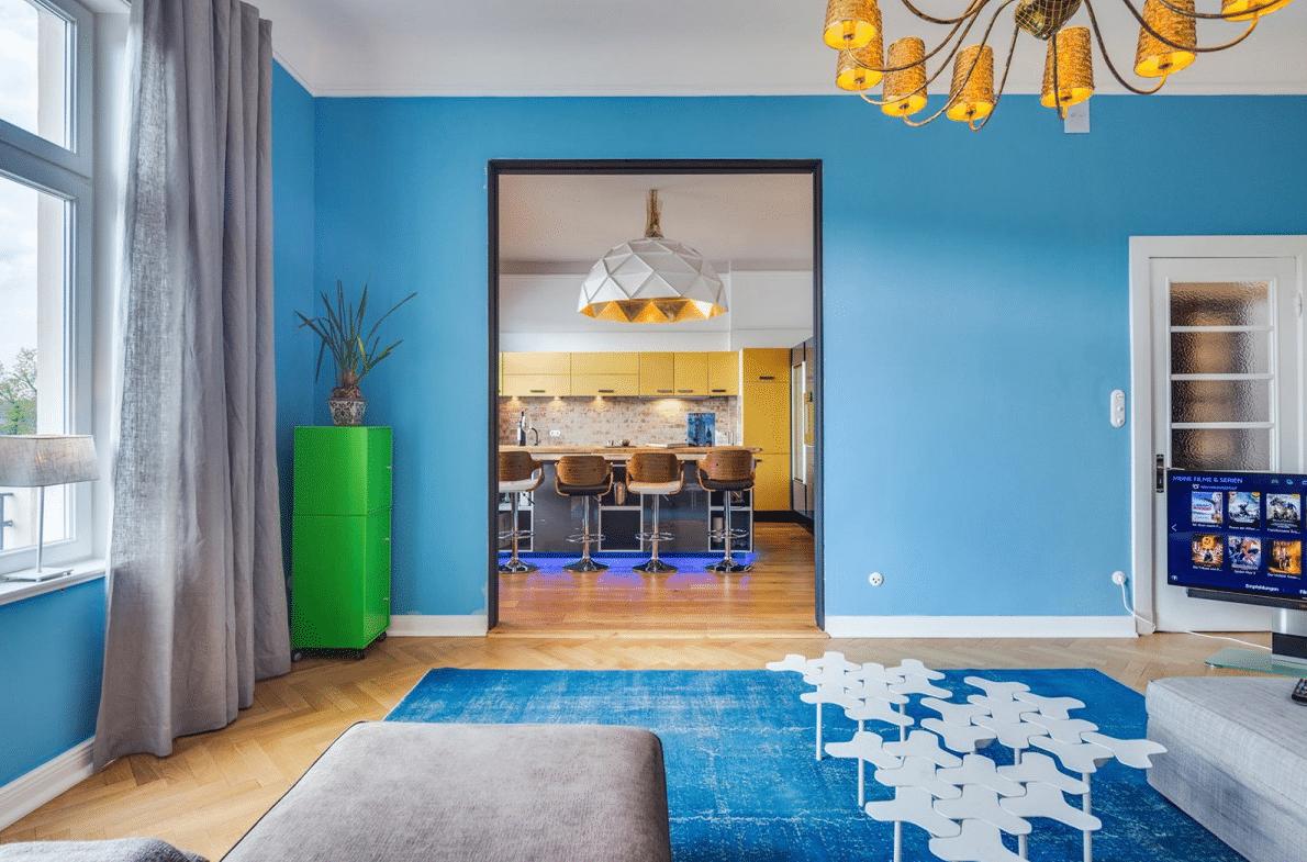 Un departamento que evoca coloridos viajes por el mundolemonbe el color olor y sabor de tu hogar - Catalogo decoracion interiores ...