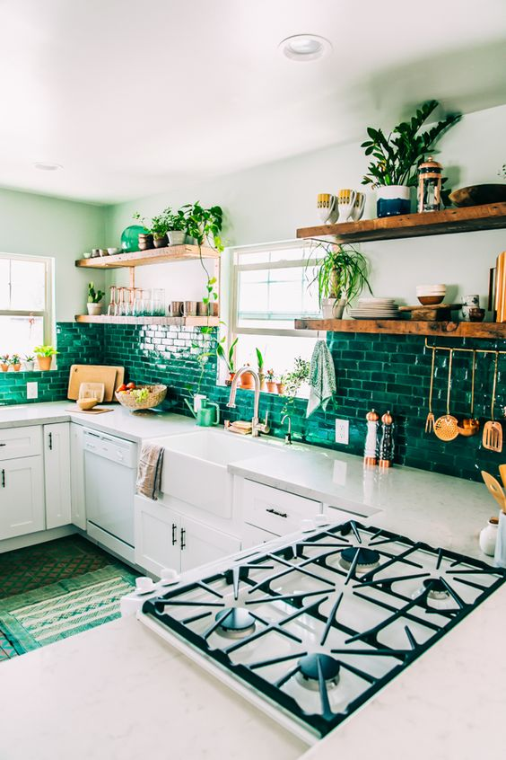 lemonbe-Ideas de cocinas llenas de color-06