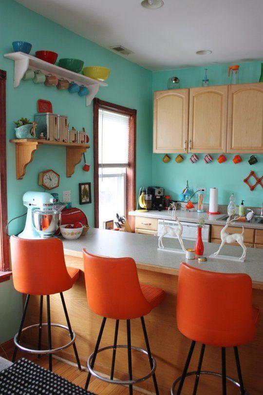 lemonbe-Ideas de cocinas llenas de color-09
