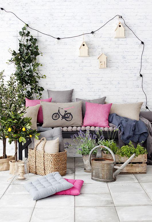 C mo crear un peque o jard n en tu casa lemonbe el for Casa hogar jardin