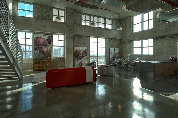 lemonbe-Un loft industrial perfecto para Miami-07
