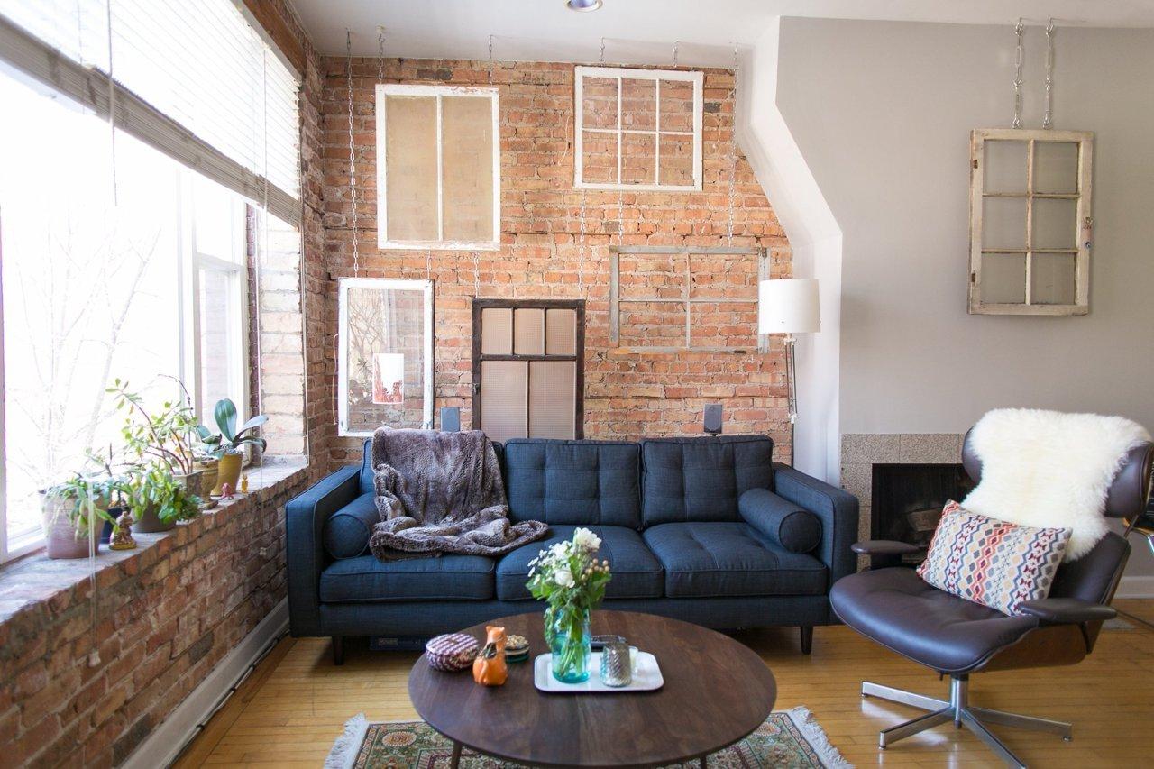 lemonbe-Vintage contemporáneo y hermoso así es este hogar en Chicago-02
