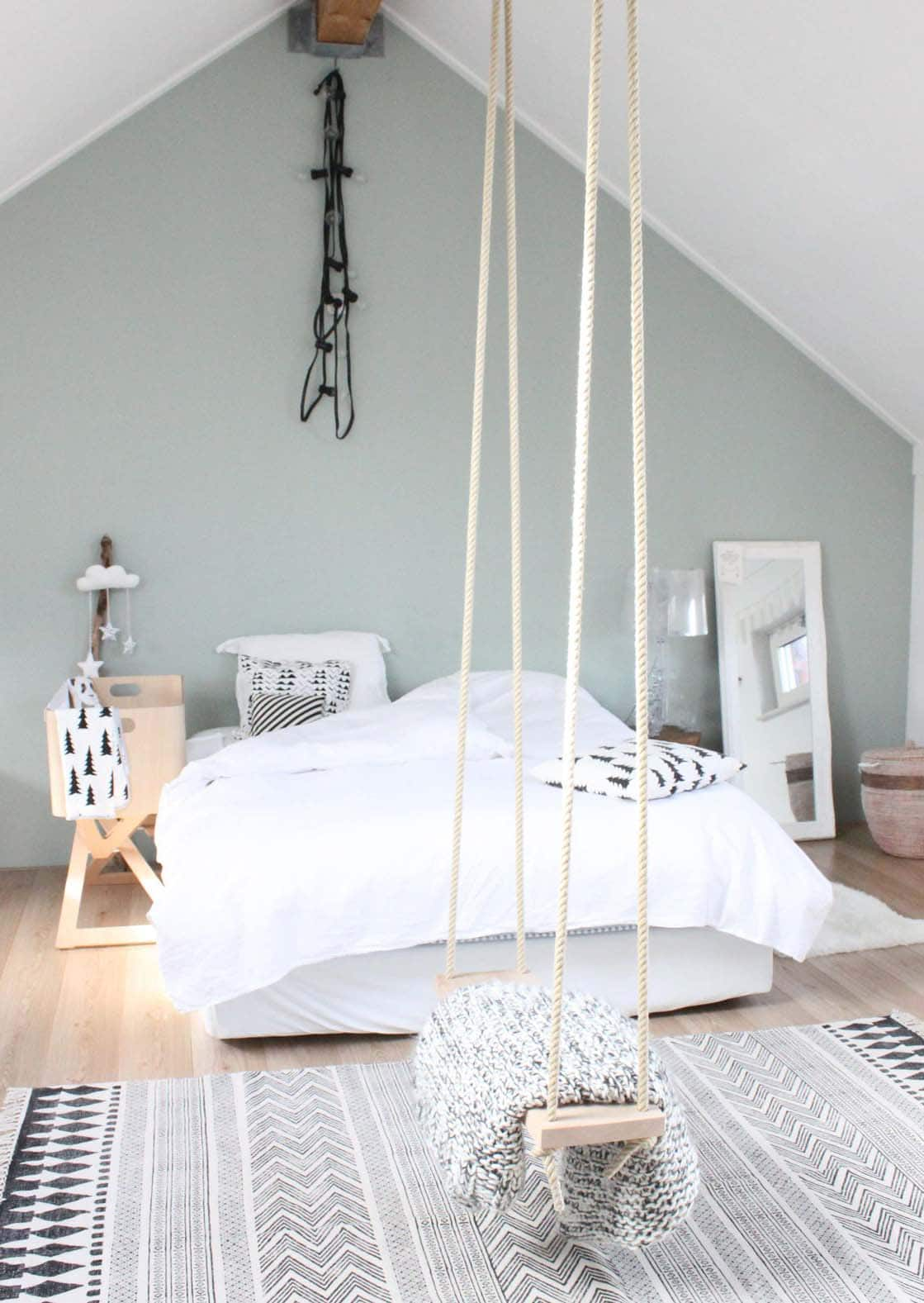 lemonbe-Ideas para colocar un columpio dentro de tu casa-02