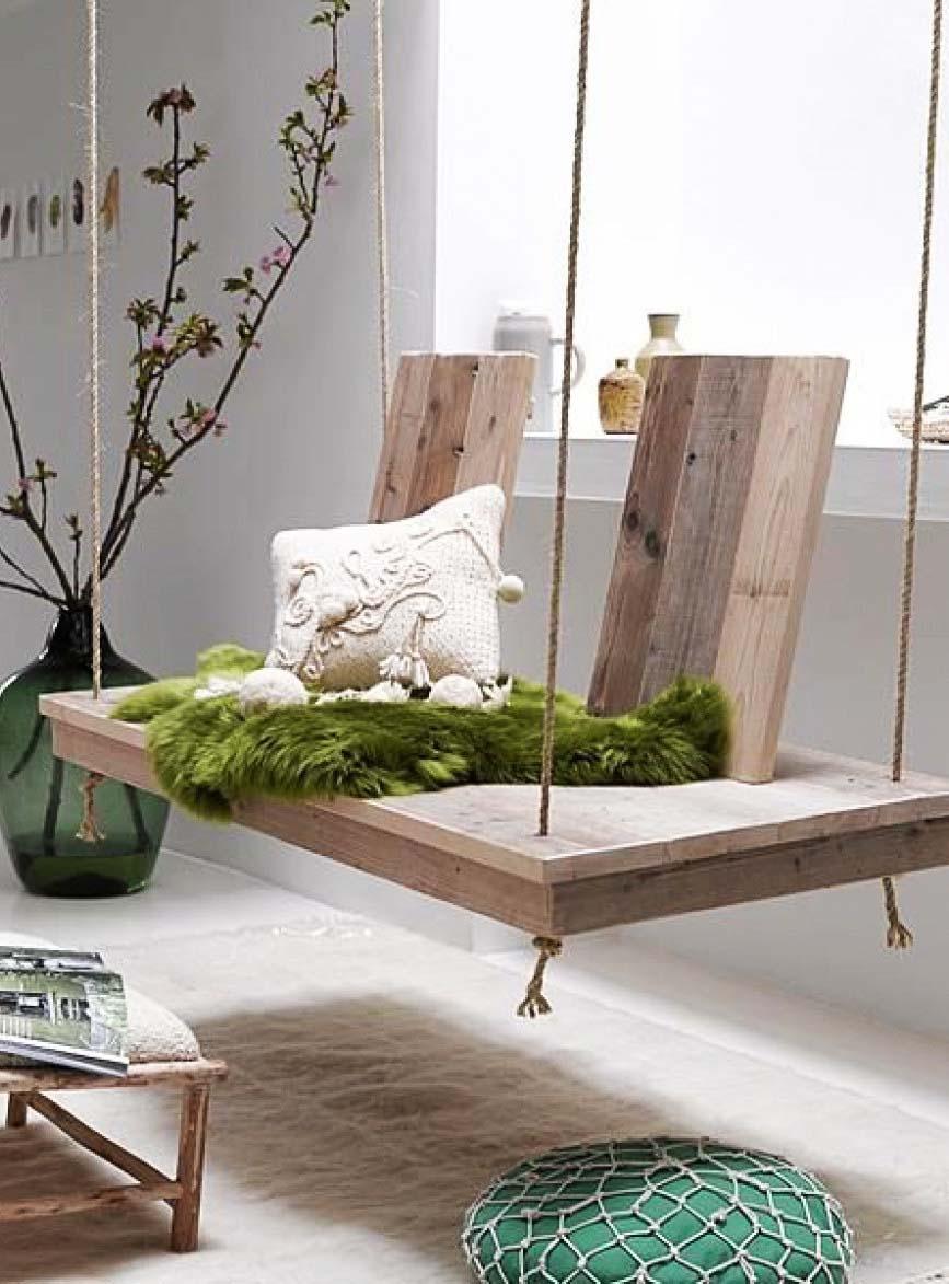 lemonbe-Ideas para colocar un columpio dentro de tu casa-03