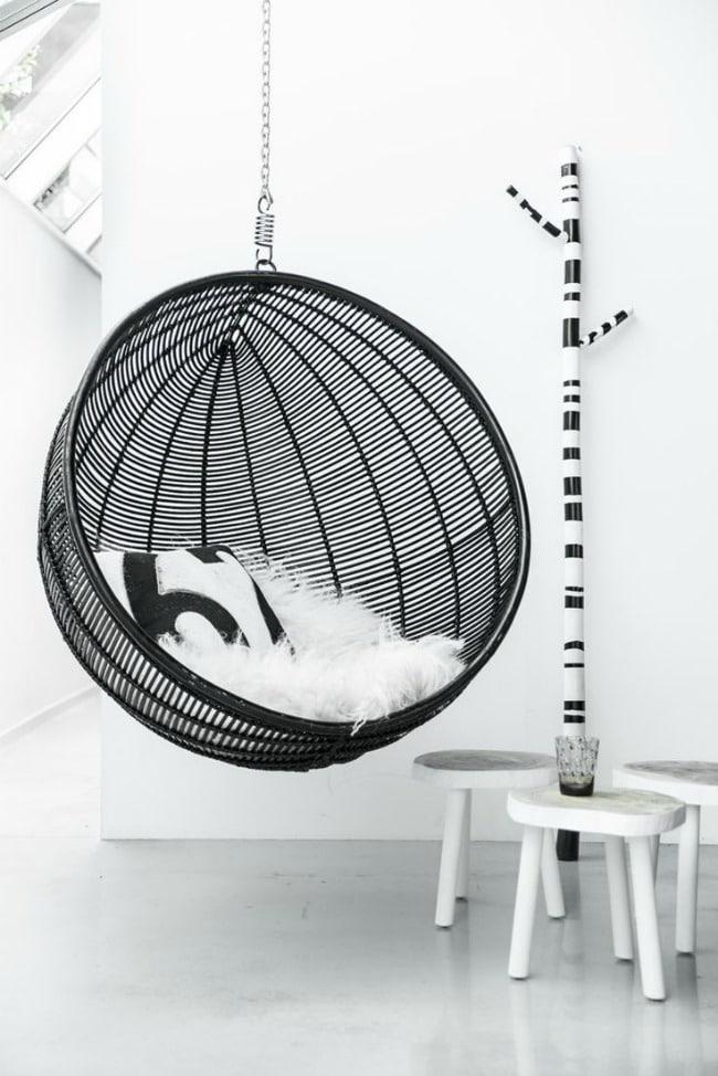 lemonbe-Ideas para colocar un columpio dentro de tu casa-07