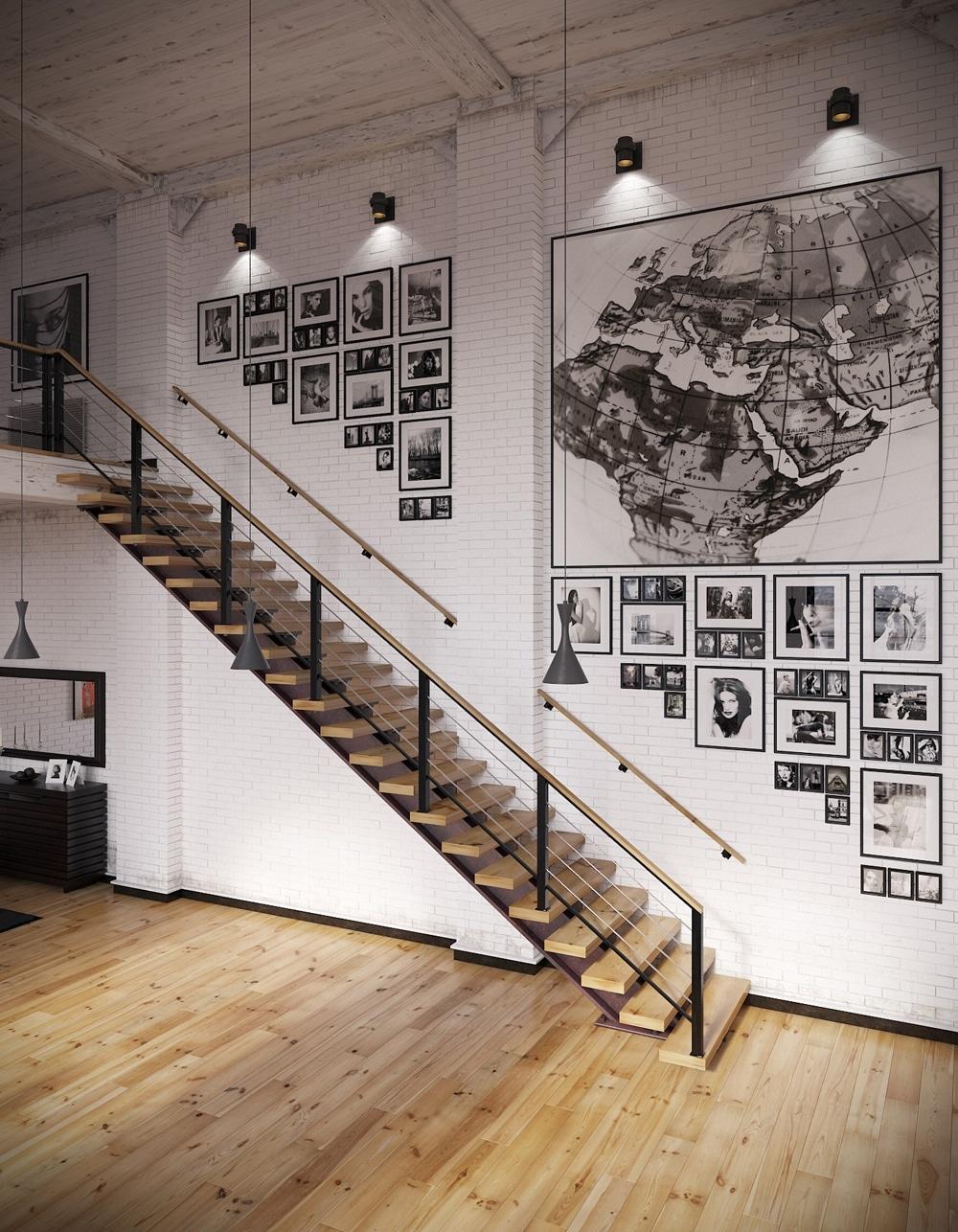 lemonbe-Un hogar que divide espacios utilizando colores en vez de paredes-04