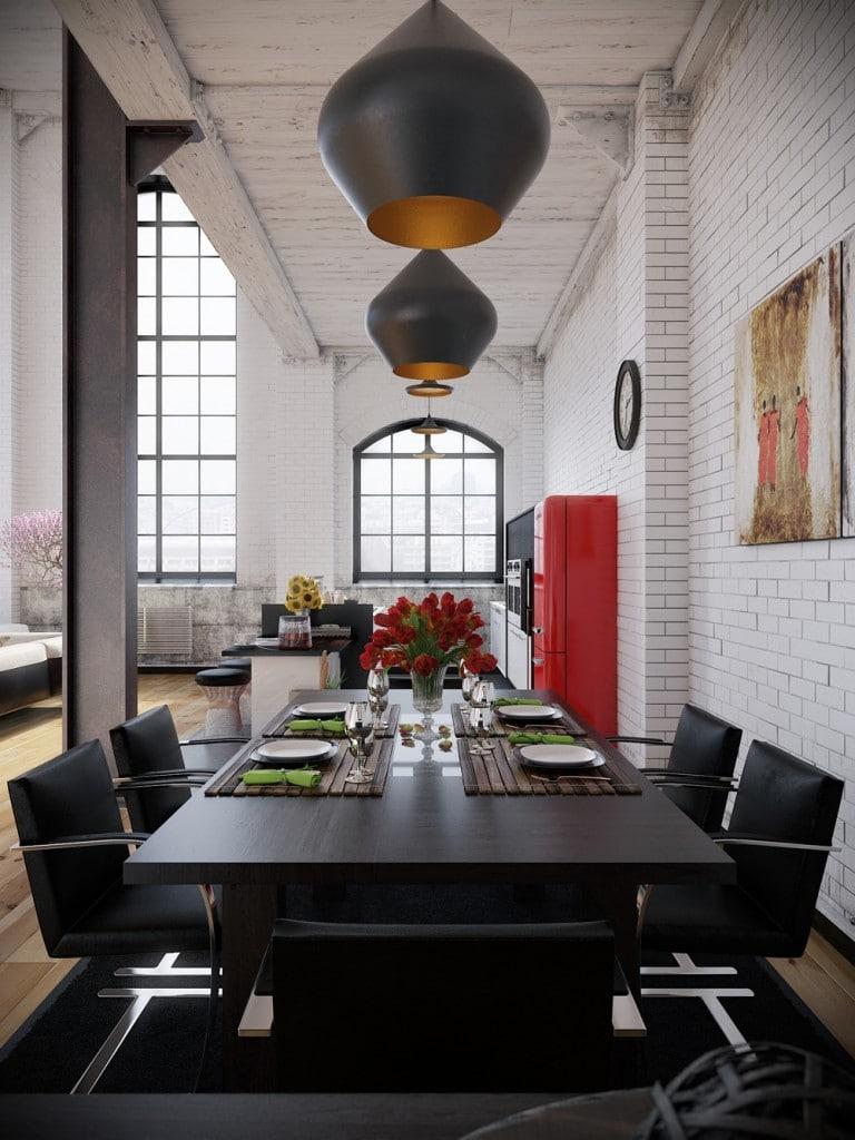 lemonbe-Un hogar que divide espacios utilizando colores en vez de paredes-05