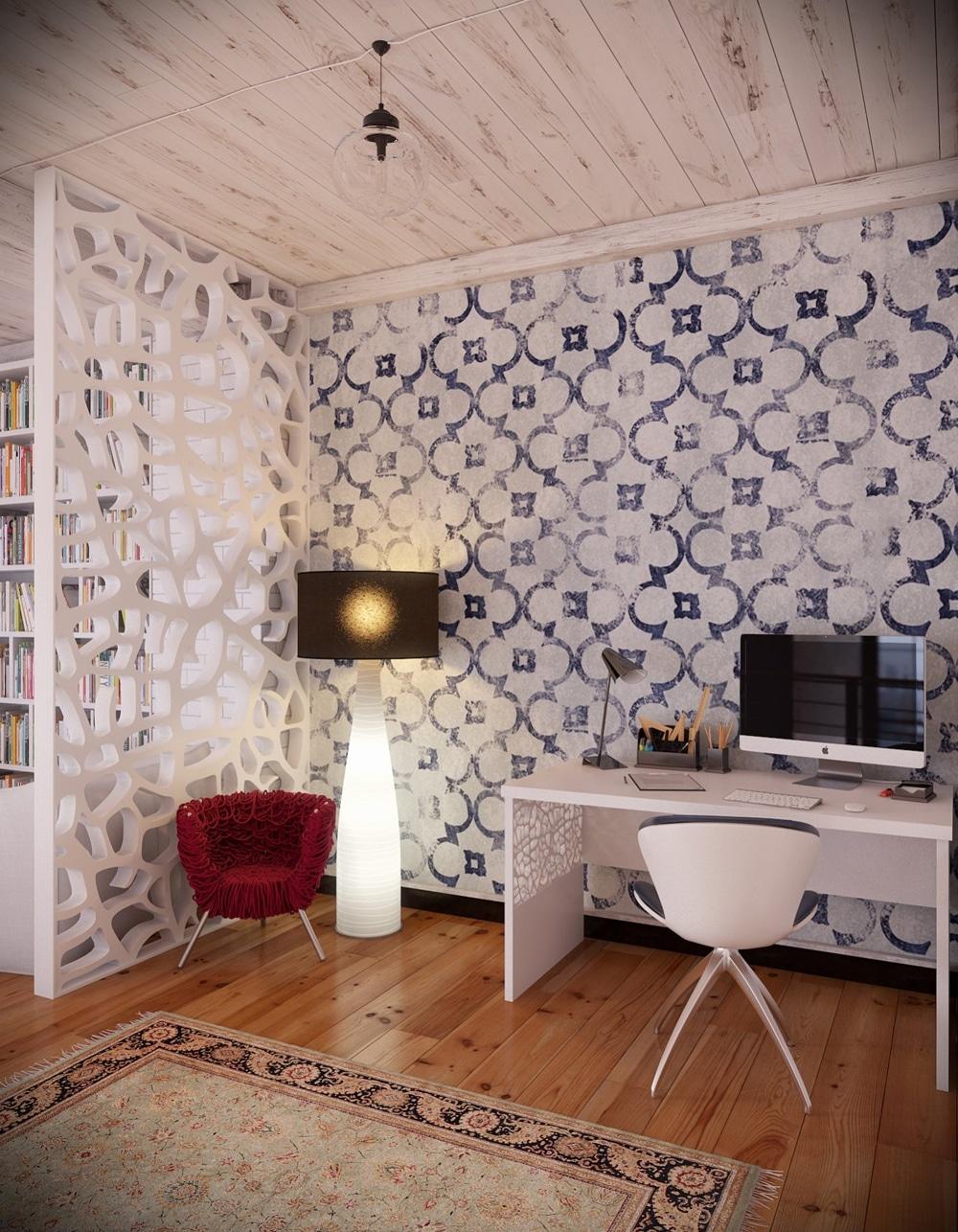 lemonbe-Un hogar que divide espacios utilizando colores en vez de paredes-07