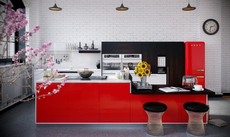 lemonbe-Un hogar que divide espacios utilizando colores en vez de paredes-08