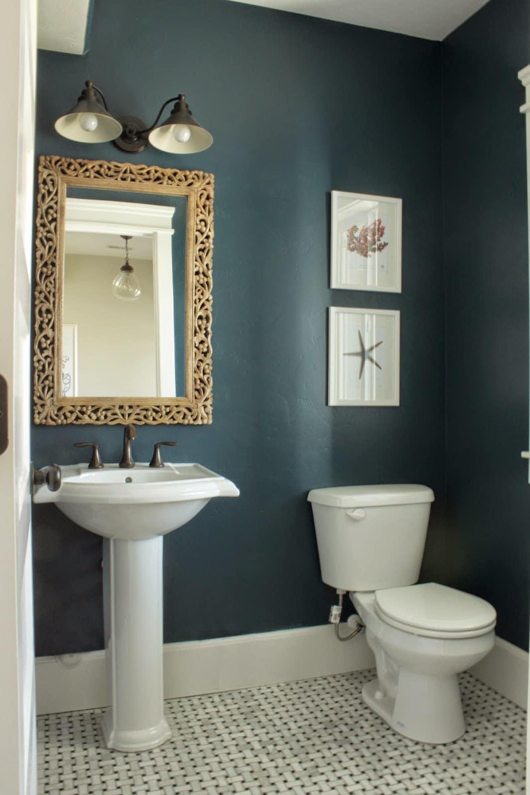 Dusty Blue Bathroom